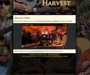 Harvest Tunes Website and videos