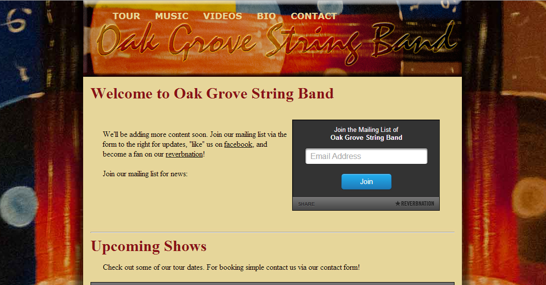 Oak Grove String Band