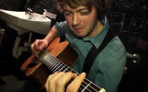 Joe Robinson performing Slow Drip