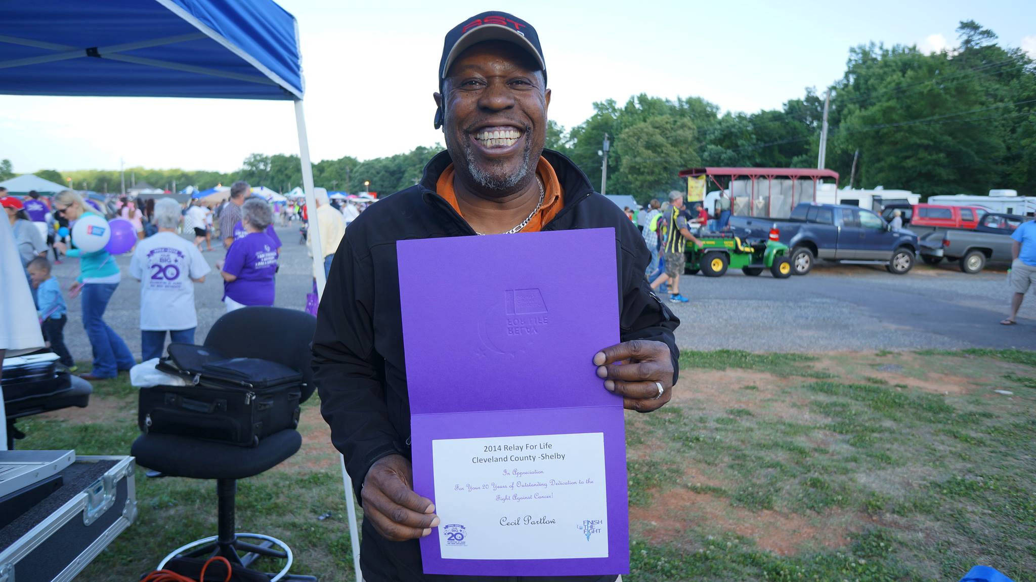 Cecil & Company DJ Services in Shelby, NC at Relay for Life
