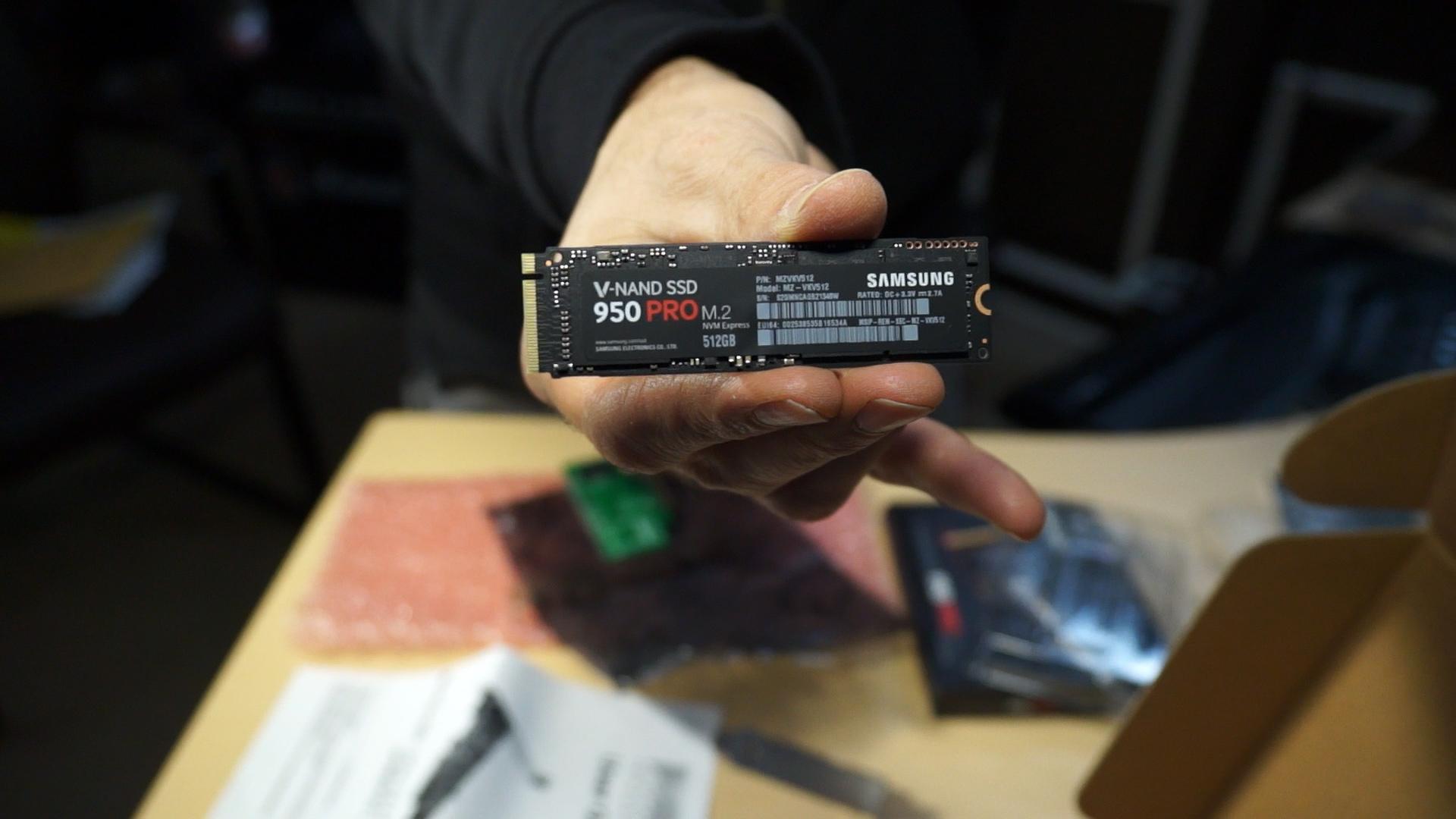 Samsung 950 Pro M.2 Drive